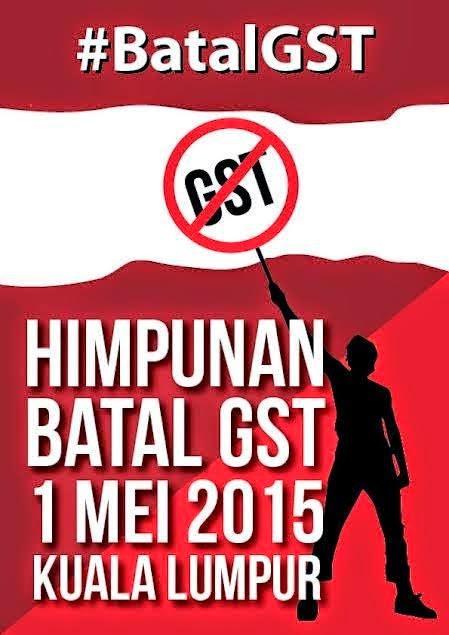 HIMPUNAN #BatalGST
