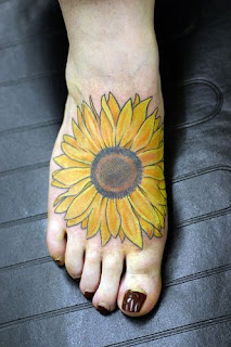 Sunflowers Tattoo Design Photo Gallery - Sunflowers Tattoo Ideas