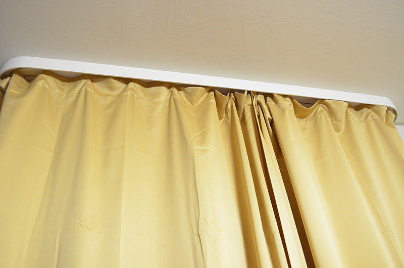 just you and me baby...: Mission: Hanging Curtains in family housing ...