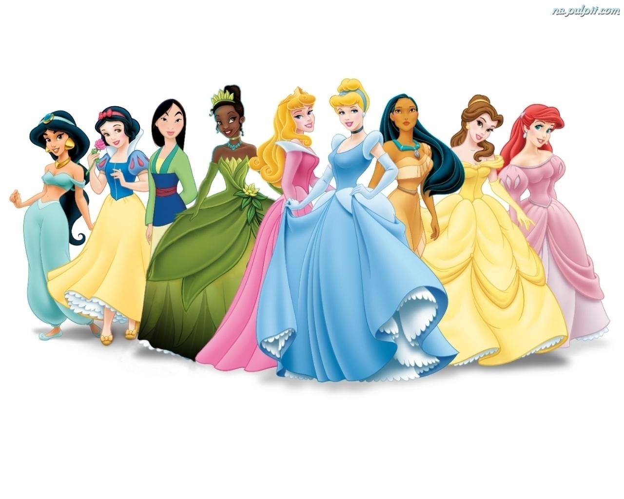 II tydzień Zabawy Kolorem :) Tym razem Księżniczki Disney'a :)