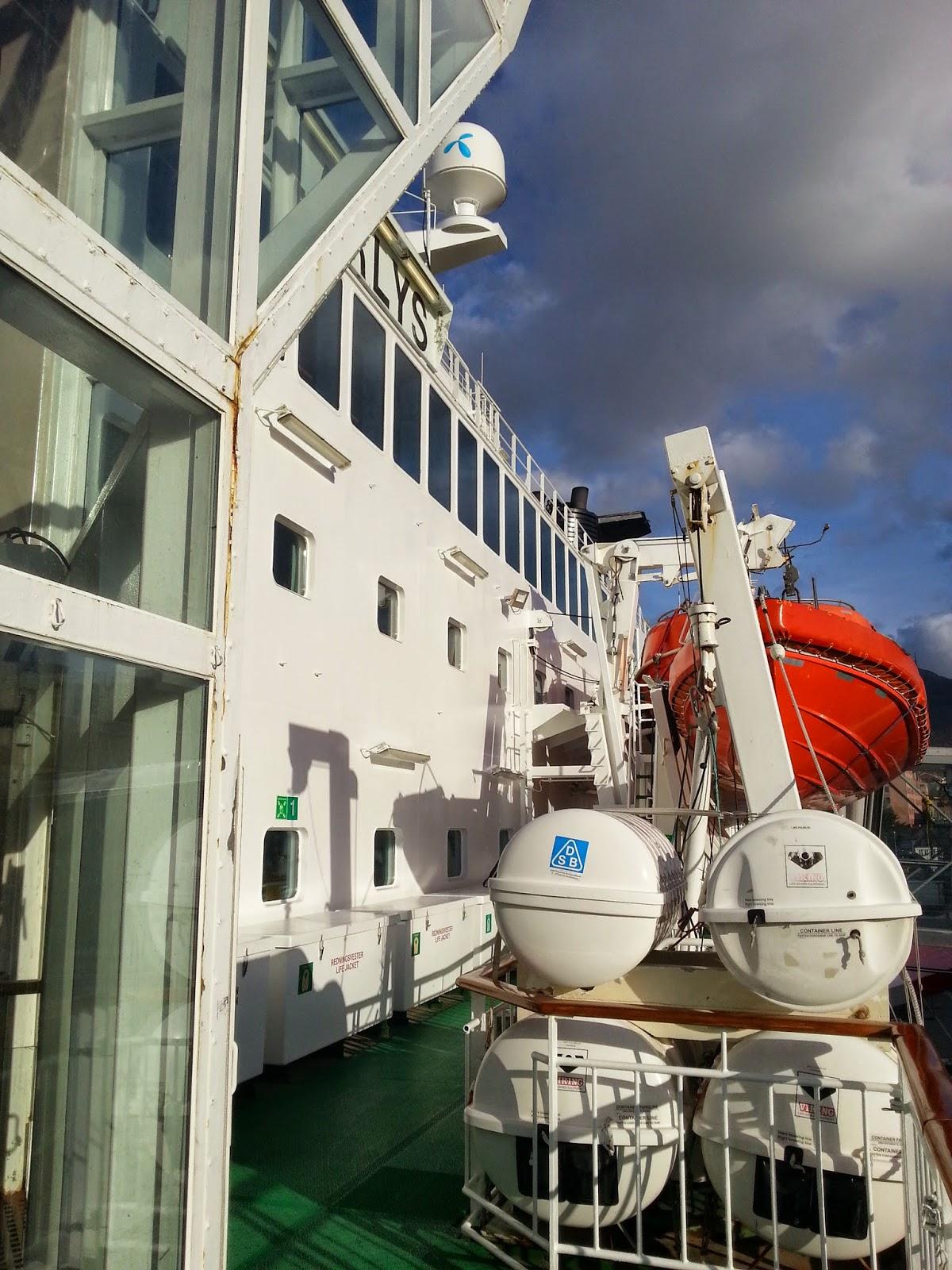 Hurtigruten MS Polarlys - Lifeboats
