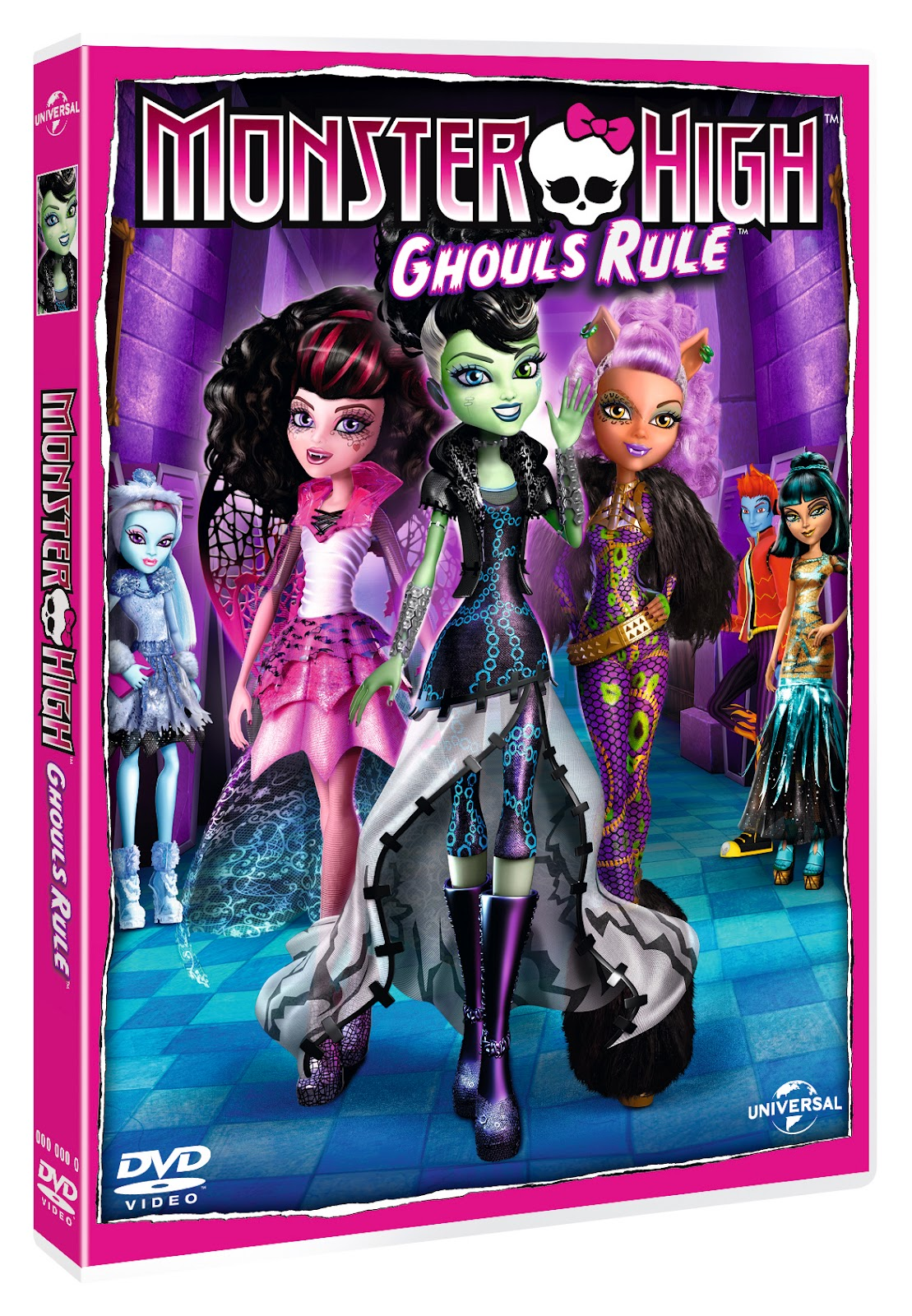 Monster High Ghouls Rule! (2012) BluRay 720p 650MB [Hindi DD 5.1 – Eng 2.0] AAC Esub MKV