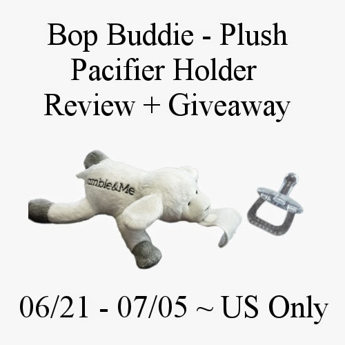 Plushie Pacifier Giveaway