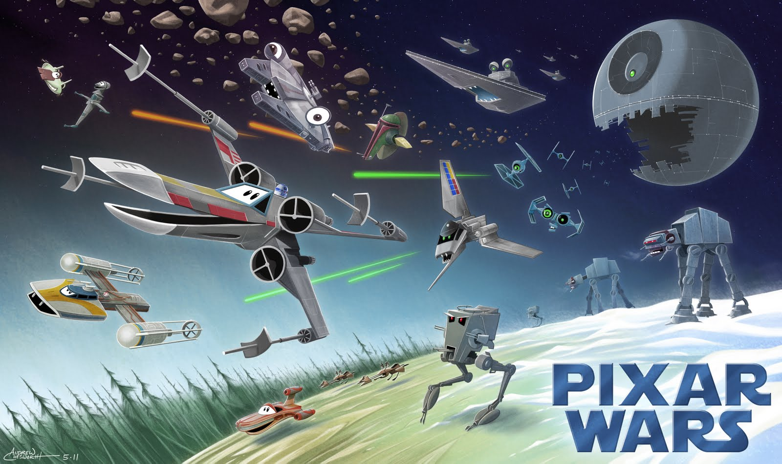 Pixar Wars