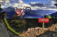 لعبة دراجات الجبال