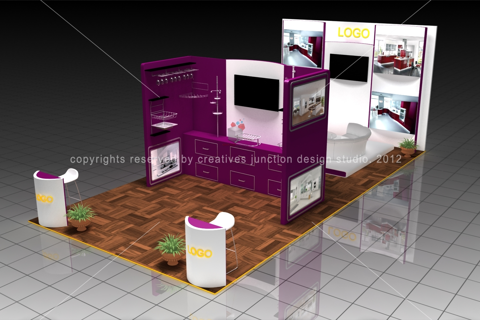 Exhibition Stand Design Decor : Creatives junction design studio home decor exhibition stand