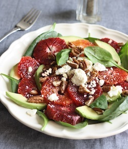 blood orange and avocado salad recipe