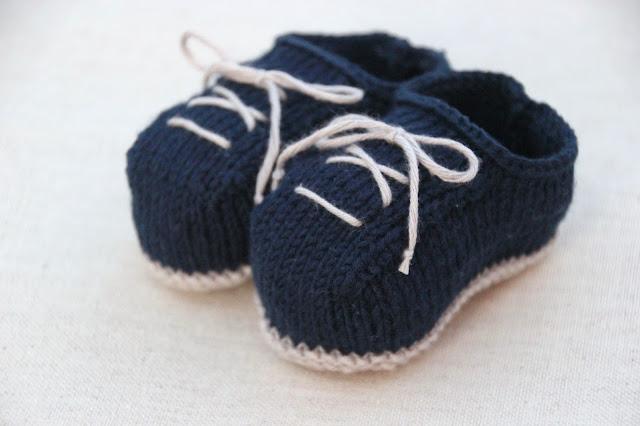 6 patrones gratis de patucos de bebe diy
