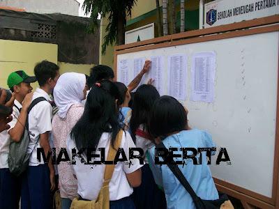 Pengumuman hasil UN UNAS ujian SMA/SMK/SMP/SD 2013