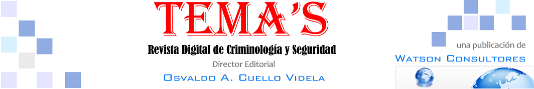 TEMA'S Revista Digital de Criminología y Seguridad