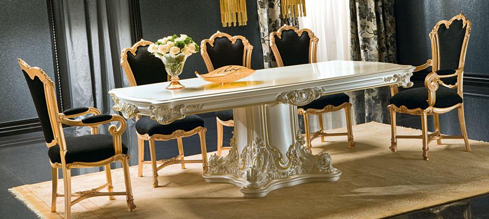 Comedores cl sicos de lujo ideas para decorar dise ar y - Comedores clasicos ...