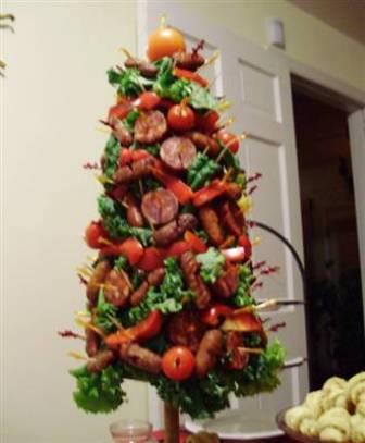 Jenny matlock trendy decorating for Bacon christmas tree decoration