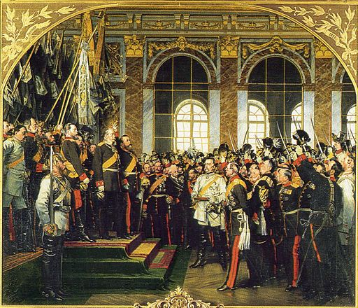 At noon on 18th January 1871 King Wilhelm of Prussia was crowned as the  first Emperor of a united Germany, although the coronation took place in  the Hall of ...
