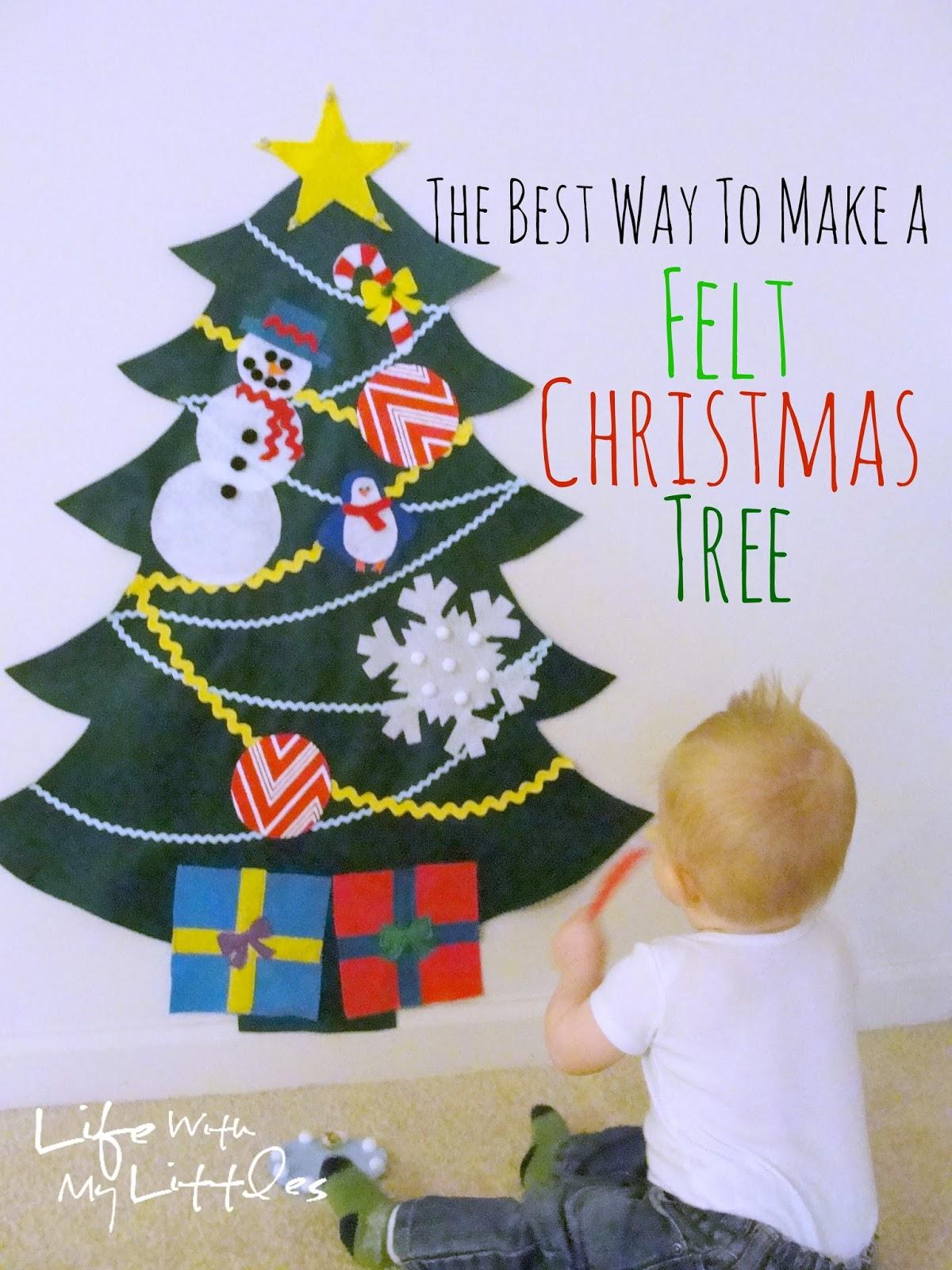 Christmas tree original make your own felt christmas tree decorations