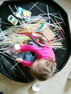 straws everywhere