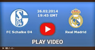 Hasil dan Video Schalke 04 vs Real Madrid