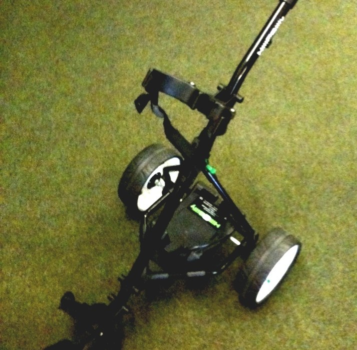 Electric Golf Trolley - Hillbilly Golf Carts on