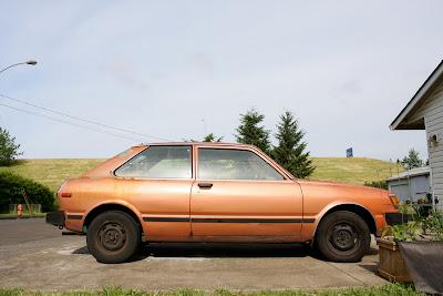 1981 Toyota Tercel Hatchback.