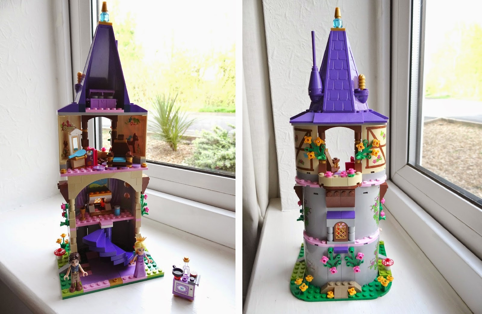 LEGO Disney Princesses, LEGO Tangled, LEGO Disney Princesses Rapunzel's Creativity Tower