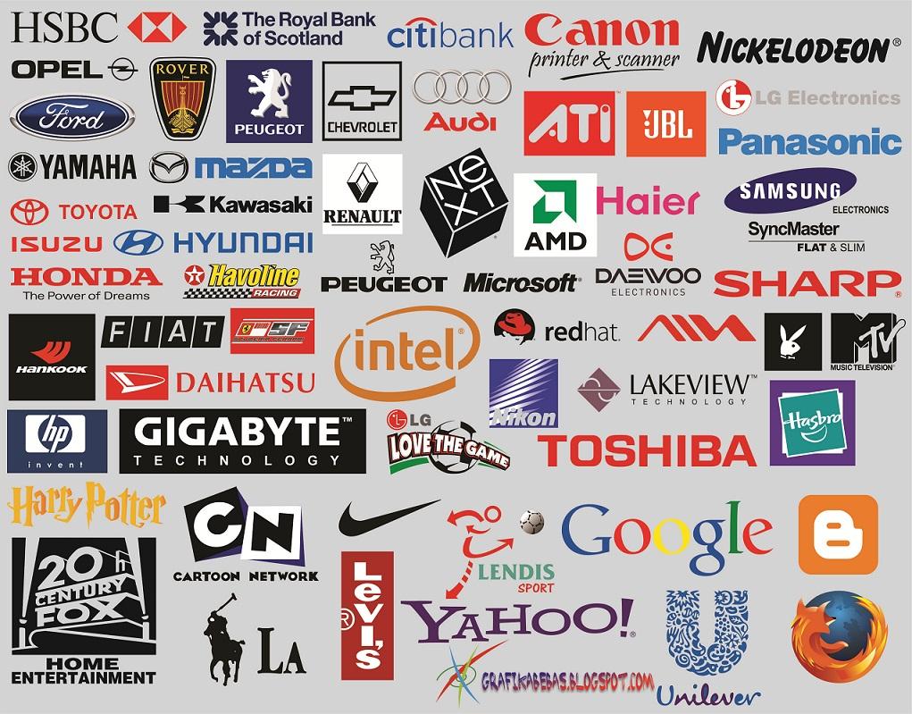 Logo perusahaan dunia