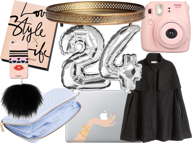 girly birthday wish list fashionista Christmas presents