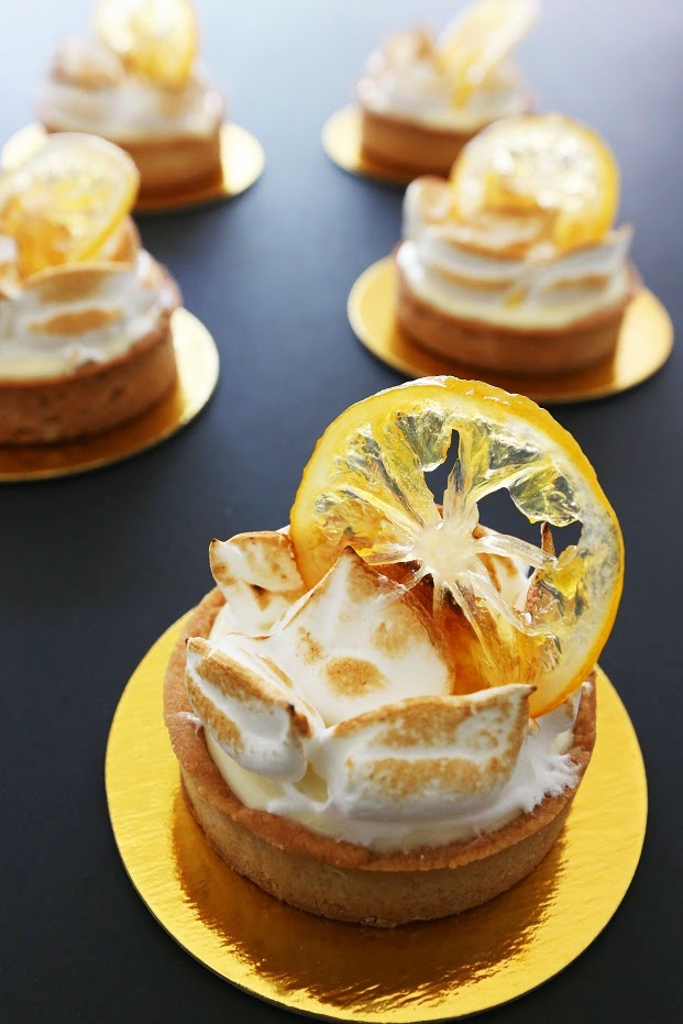 Rustic Meyer Lemon Tart Recipe — Dishmaps