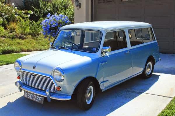 1968 Austin Mini Traveller Wagon   Auto Restorationice