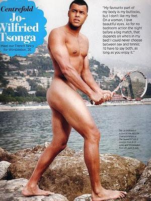 tsonga sin camisa desnudo pene fotos tenista tenistas
