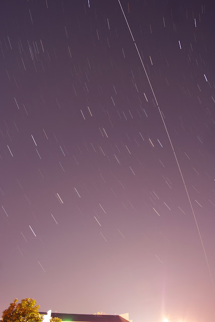 international space station over indiana