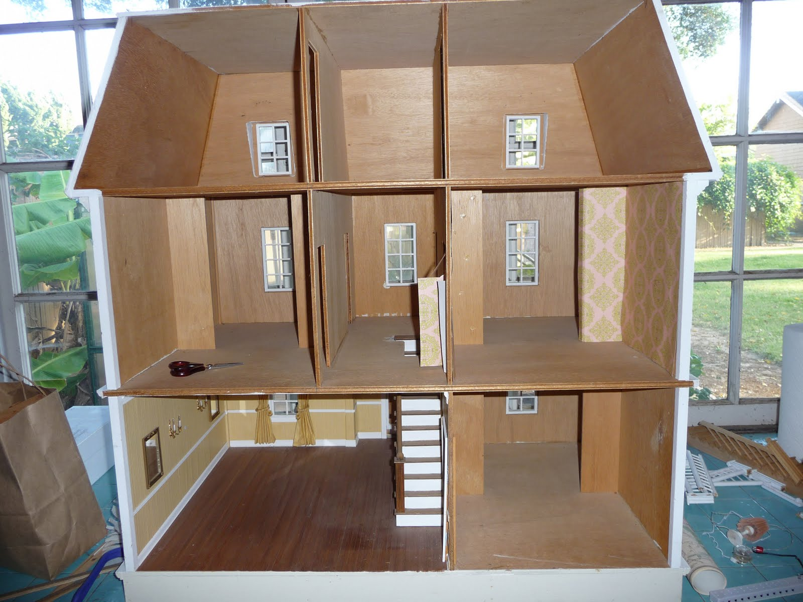 Nat S Steampunk Dollhouse
