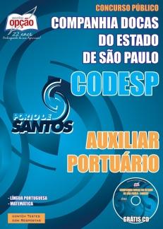 NOVO Concurso Companhia Docas do Estado de São Paulo (CODESP) 2015