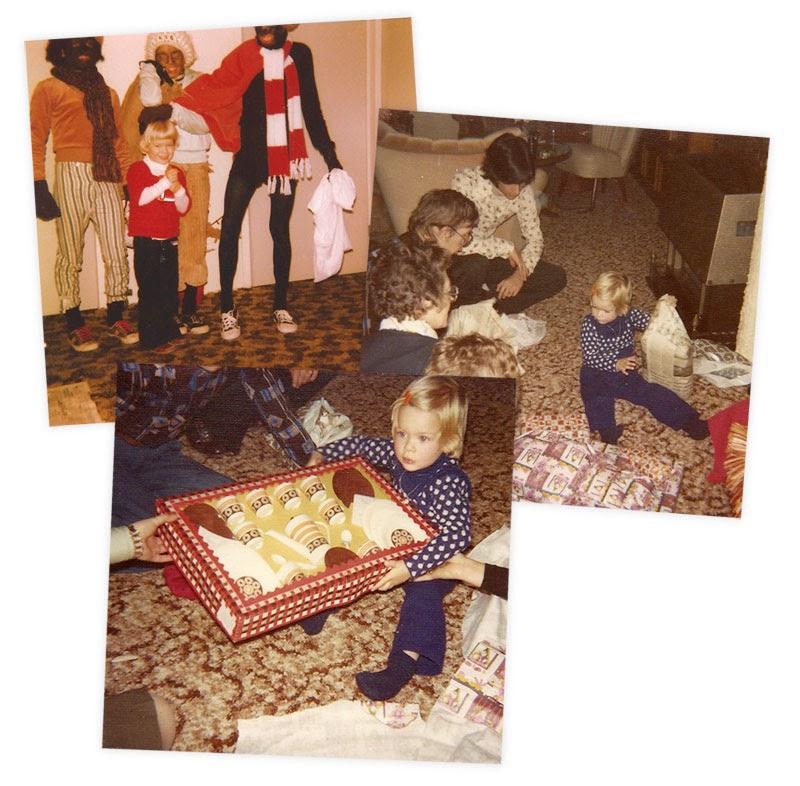 Julia viert Sinterklaas