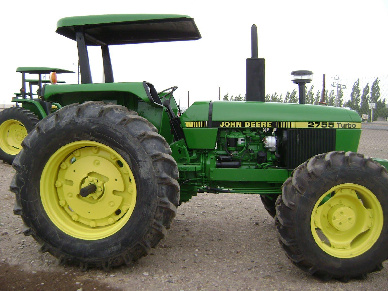 Maquinaria Agricola Industrial  Tractor John Deere 2755 Turbo Sincron 4x4  19 000 Dlls