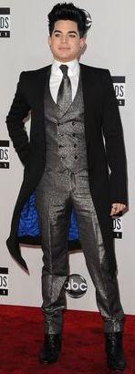 Foto de Adam Lambert en los American Music Awards 2011