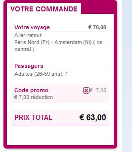Thalys Amsterdam