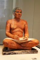 Seated Scribe, Louvre Museum