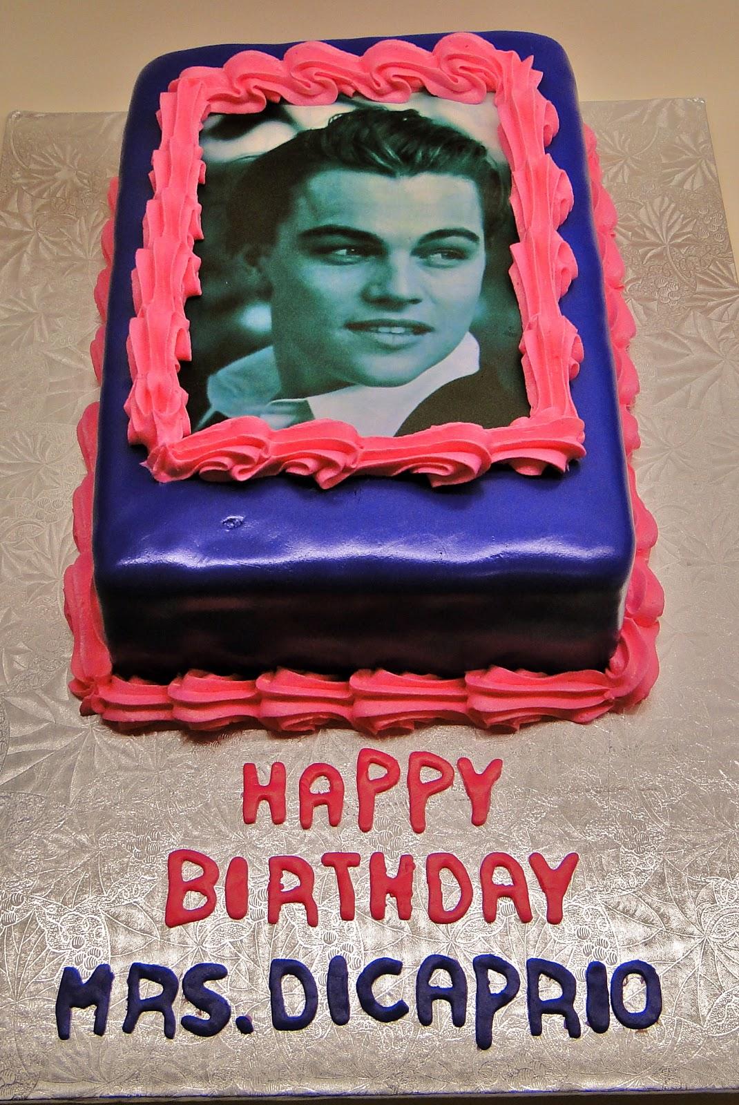 Leonardo Dicaprio Birthday Cake