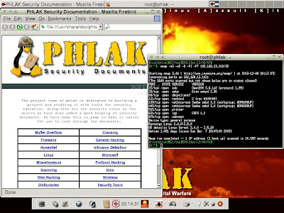 PHLAK (Professional Hacker's Linux Assault Kit)