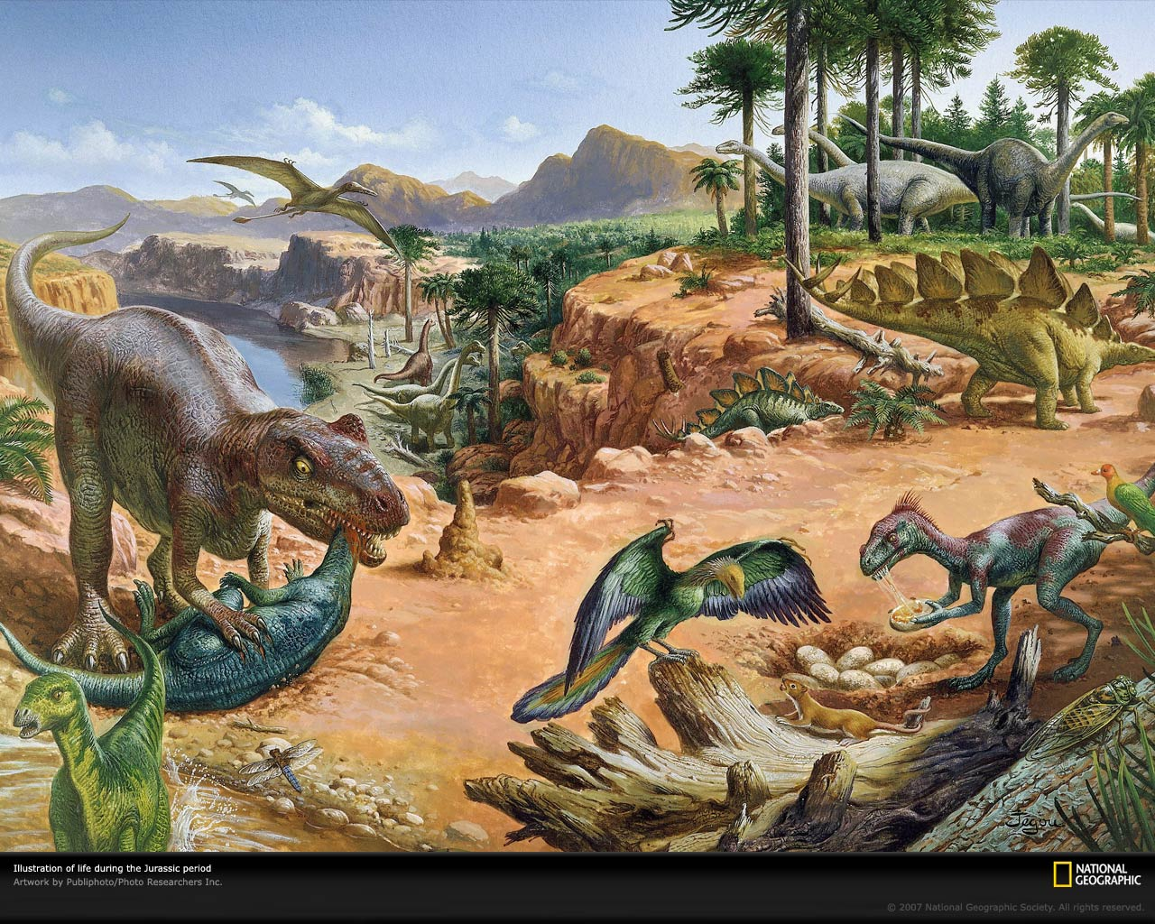 The Dinosaurs of Earth...