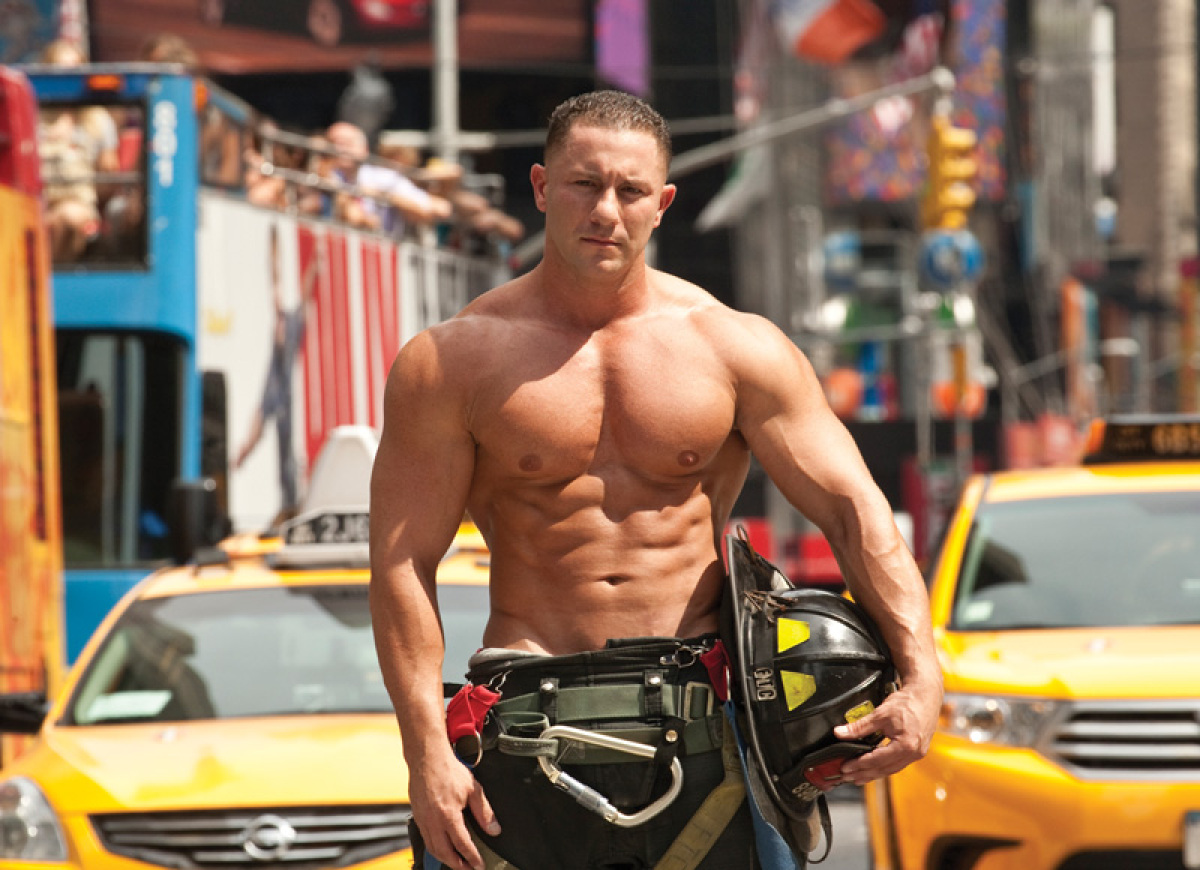 axe angel heaven: Photos: Sexy Firefighters Pose For ...