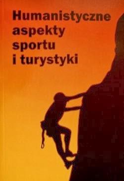 """Okładka książki """"Humanistyczne aspekty sportu i turystyki"""""""