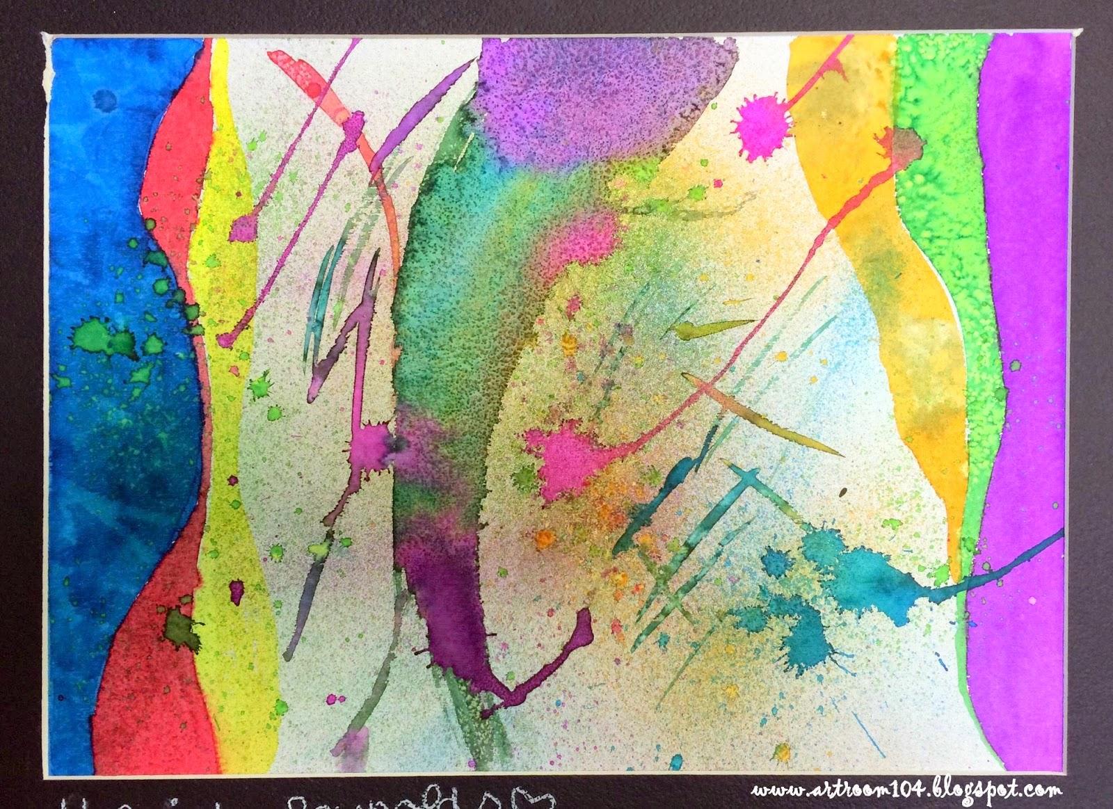 Art Room 104: Studio Art: Painting Unit, Watercolor