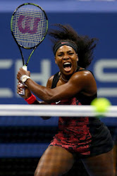 Can you tell the story from the roar? Serena Williams Recovers From Initial Set Back To Win.