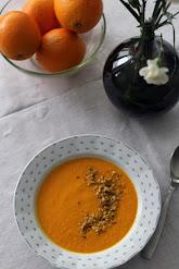 Porkkana-sahramikeitto