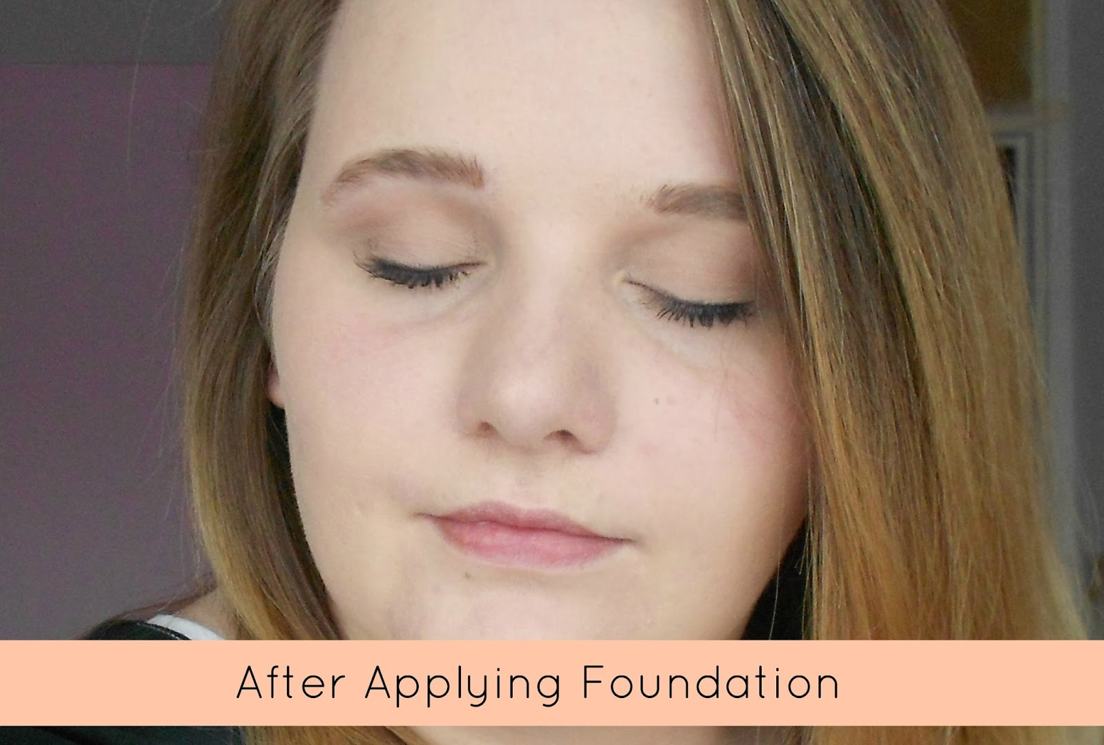 avon ideal flawless foundation ivory  before and after