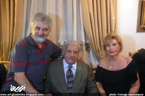 قدیمی ها: جشن تولد 88 سالگی نصرت الله وحدت، بمب خنده سینمای ایران ...