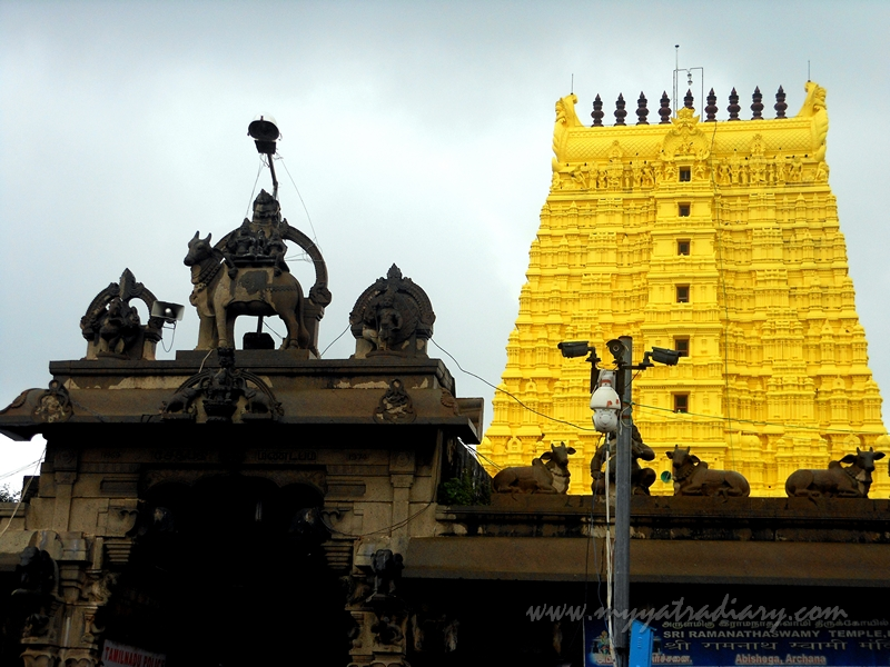A Look at the Ramanathaswamy Temple, Rameshwaram, Tamil Nadu