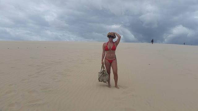 Lua de mel - Jericoacoara. Ceará, bodas de papel, 1 ano de casados, viagem, econômica, praia, sol, romântica,  dunas
