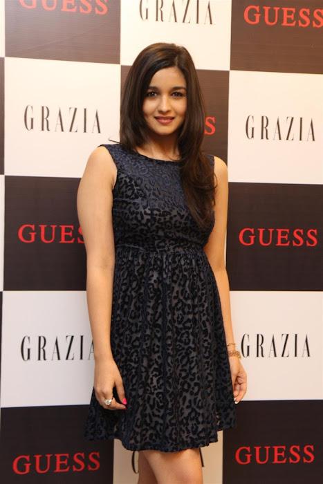 alia bhatt unveils grazia magazine party special issue. actress pics