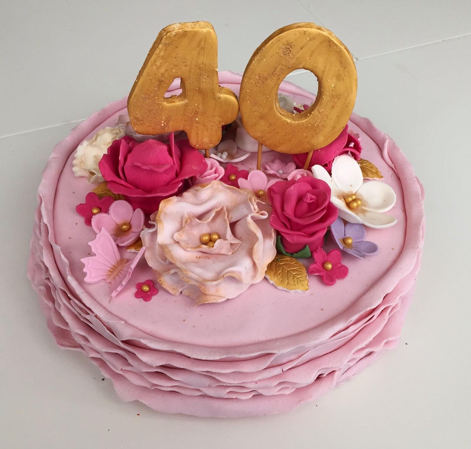 40 årstårta